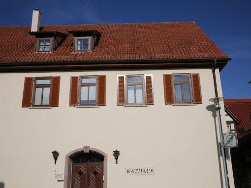 Fensterbau-Klappläden